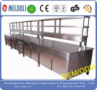 OEM Stainless steel laboratory Central Bench