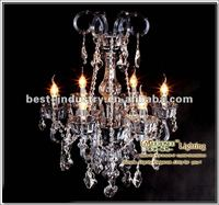 Pure crystal arabian style pendant lamp, 6-star hotel's supplier