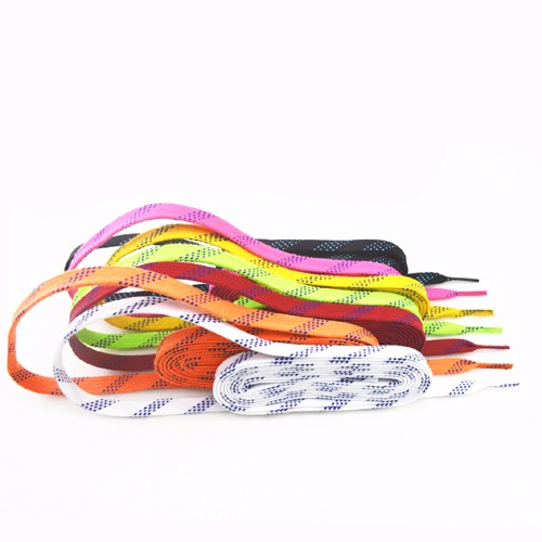 High quality Moulded tips field hockey shoelace