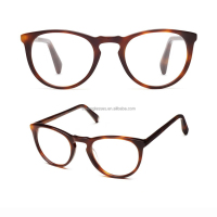 Round cat eyes acetate optical frames eyeglasses eyewear