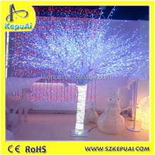 2016 Best outdoor decoration led fiber optic christmas tree lighting