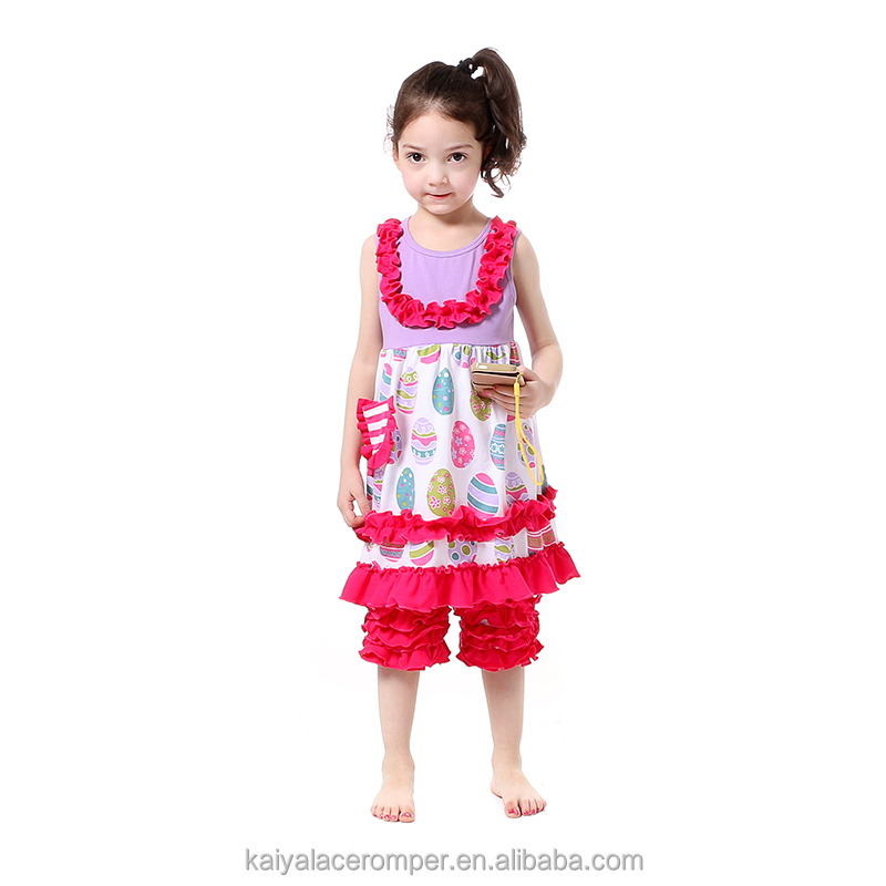2017 kids clothes sute spring girls wholesale boutique clothing sweet girl clothing