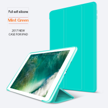 High Quality Soft Cover Case For Apple Ipad Air Magnets Stand Smart Case For Ipad 9.7 2017