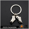 Mini soccer shoes keychain custom metal key chain for promotion