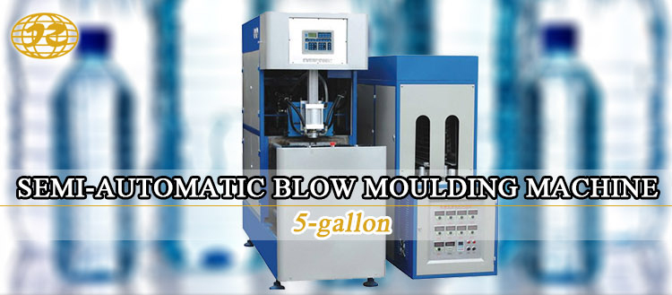new model complete 2018 Semi automatic pet bottle 5 gallon blow molding moulding machine price