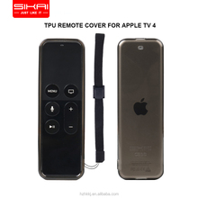 SIKAICASE TPU Sleeve Case For Apple TV 4 Silicone Cover For Siri Remote Controller Anti Drop Minimalist Design Protective Skin