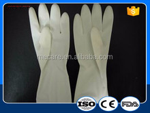 Hospital use latex examine powder free sterile latex medical surgical gloves