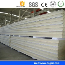 High density polyurethane pu foam raw materials for sandwich wall panel