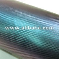 Hot sale ! Newest Chameleon 3D Carbon Fiber Car Vinyl Film