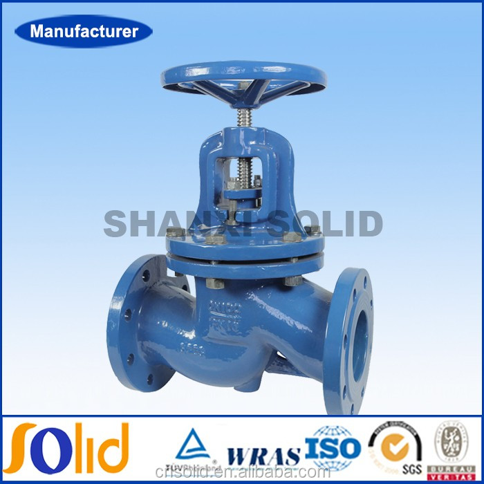 BS5152 Cast iron Flanged end Globe Valve
