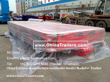 High Quality Multi-Axis Modular Self Propelled Lowbed Trailer for Sale with Economic Price