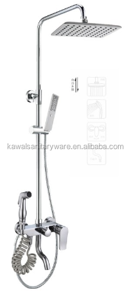 New Design Bath Shower with Single Handle spa set curtain shower