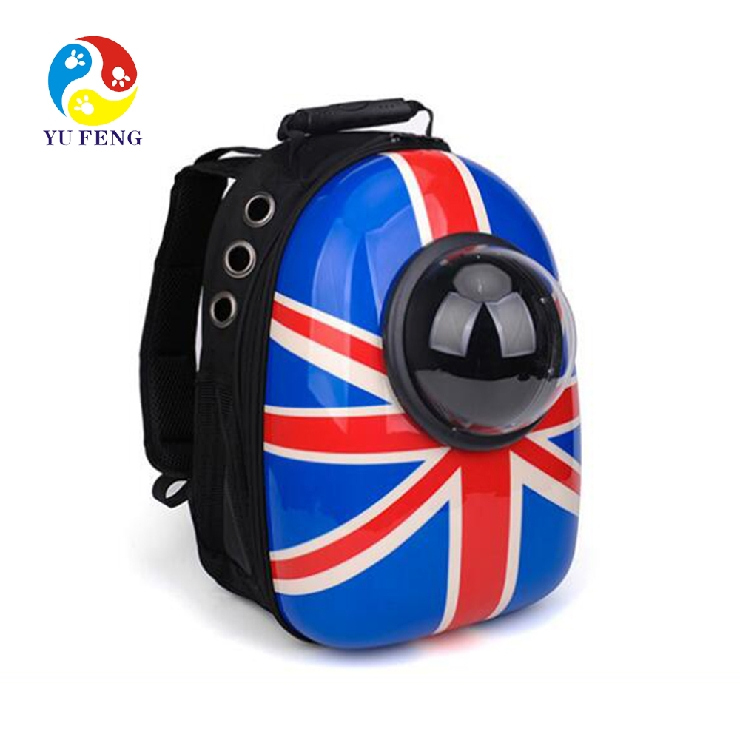 Airline approved travel hiking bubble backpack dog cat pet carrier backpack