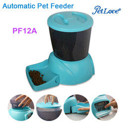 4.25L Large Capacity Programmer Automatic Dog Feeder with Voice Recording Auto Pet Feeder PF12A