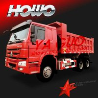SINOTRUCK 6X4 howo tipper better than nissan pickup 4x4
