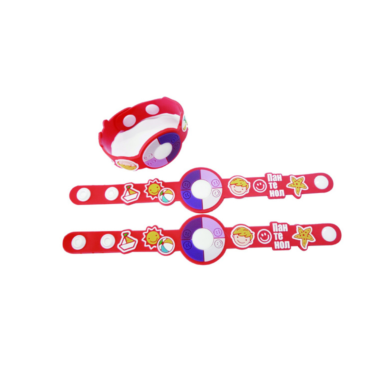 Hot sale factory direct price sunscreen bracelet for promotion With ISO9001 Certificate