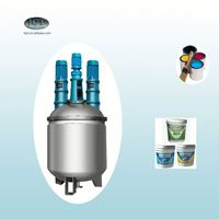 terpene phenolic resin reactor machine