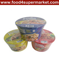 kosher 65g vegetable flavor Instant noodle(bags/cups)