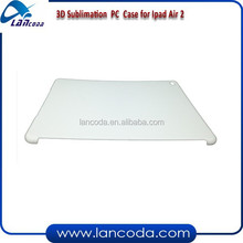 New model 3D sublimation case for ipad Air2 mobile cover,3d sublimation printing mold manufacturer