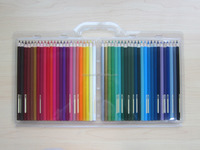 48 pcs high quality water color pencils in PVC box