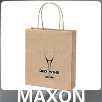 Hot sales!!! popular wholesale christmas paper bag for store