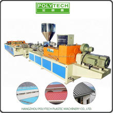 CE Certificate pvc plastic corrugated roofing board making machines