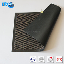 DBJX Heat embossed PVC fashion door mat
