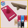 4.0-5.5'' universal stand silicone mobile phone case for lenovo a5 a806 cheap price!