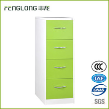 Green metal 4 drawer file cabinet for storage office A4 paper