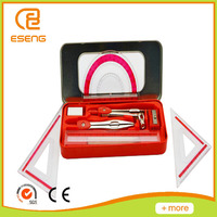Plastic Material and Math Sets Type math set mathematical instruments compass set