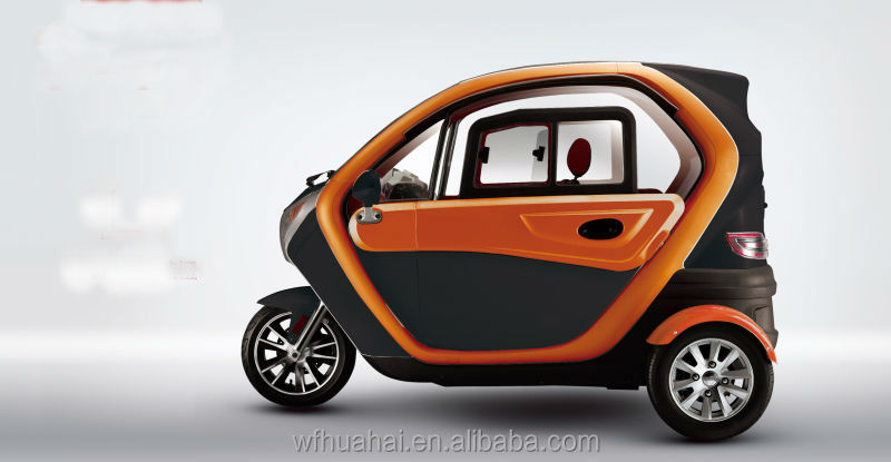 Electric Three Wheel Tricycle Motorcycle Car