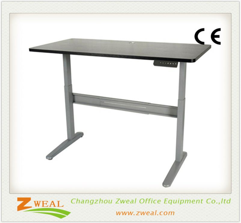wireless control available table frame stand up desk adjustable height l shaped electric executive computer