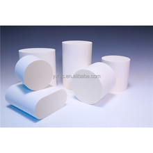 Thin 3 way Honeycomb Ceramic Filter , Round Cordierite Substrate