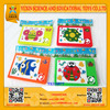 Promotional plastic sliding puzzle,puzzle game,jigsaw puzzle for gift with EN71