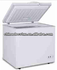 105L DC Freezer With Led Light/Inner glass/Wheels/Basket/Handle/Lock