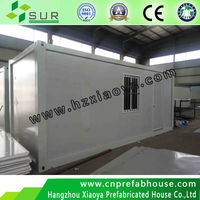 environmental and economic/strong and beautifu prefab /container home/family type container house