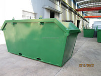 T181 Industrial steel waste bin