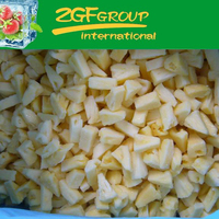 IQF Frozen Fresh a10 3kg pizza cut pineapple in good quality in bulk