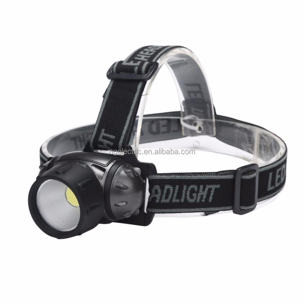 Amazon's Choice Best COB LED Headlight Torch Super Bright LED Headlamp Mounted Led Torch With Adjustable Strap