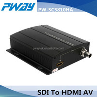 3G-SDI to HDMI or AV Multi-function Video Converter rs485 audio converter
