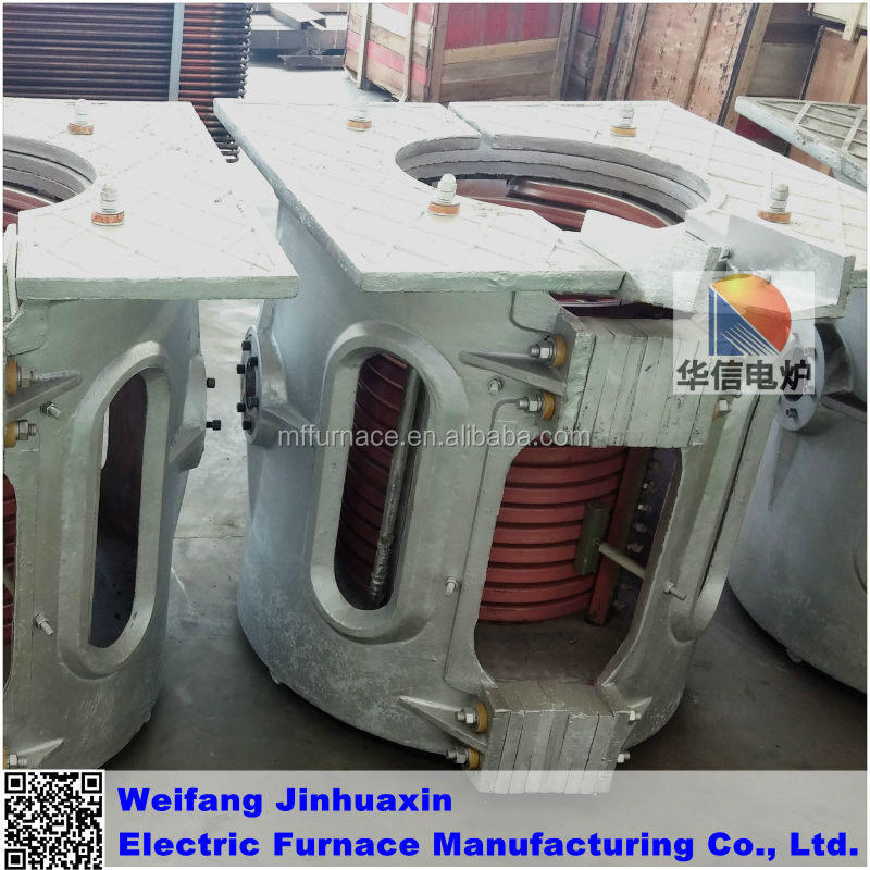 0,25T SCR Crucible Reduction Gear Melting Iron Induction Furnace