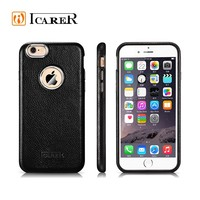 Genuine Leather Cell Phone Stand case for Apple iPhone 6