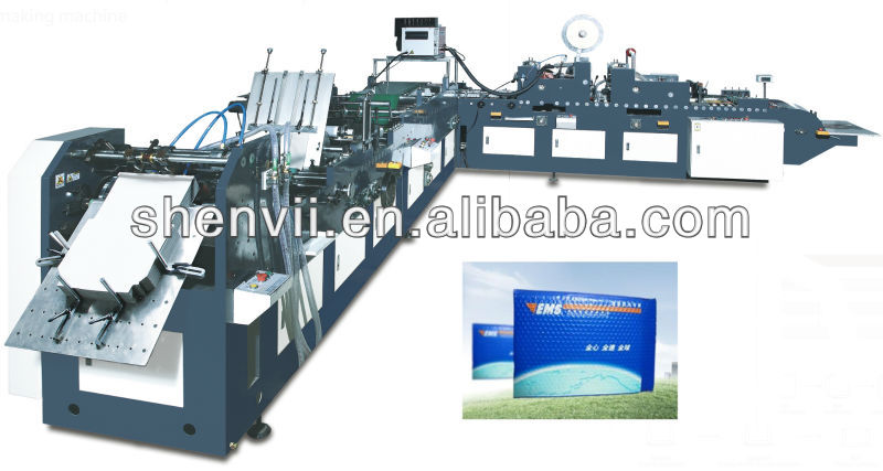 Automatic Express Paper Envelope Making Machine For EMS,DHL,UPS,TNT(SV-ZF-400)