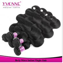 Wholesale price human hair double strong weft cheap virgin indian remy hair