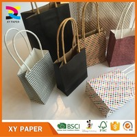Eco-Friendly hot sale kraft paper bag with avaliable color printed
