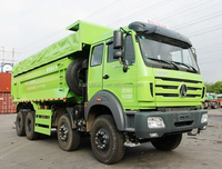 china low price beiben northbenz V3 18cbm dump trucks for Africa markets in hot sale