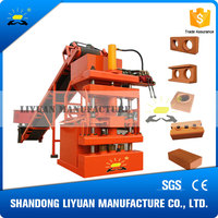 LY1-10 soil cement brick making machine price
