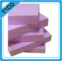 China styrofoam product flexible rigid xps packaging foam board construction thermal insulation board