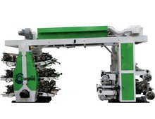 Best Price RuiAn CHONGHONG(CH6-800) 6 color Semi-automatic high speed plastic film flexographic printing machine