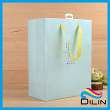 mint color small wedding favor paper candy packaging bags with handle
